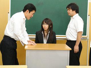 Red-hot educator Maho Sawai gets  at..