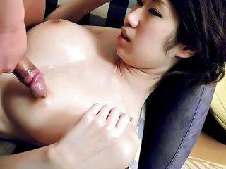 Massive hooter babe Huuka Takanashi is..