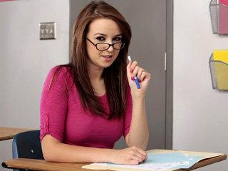 Hot schoolgirl Pressley Carter gets..