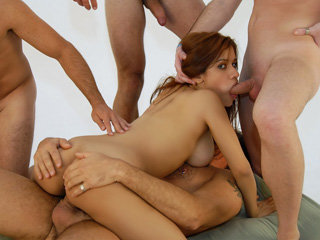 Latina chick Martina Rosa gets fucked..