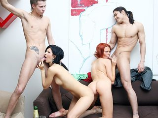Incredible soiree sex scene with a..